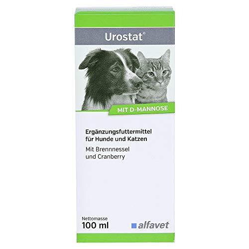 Urostat® Einheit: 100 ml Ergänzungsfuttermittel für Hunde und Katzen Mit Brennnessel und Cranberry