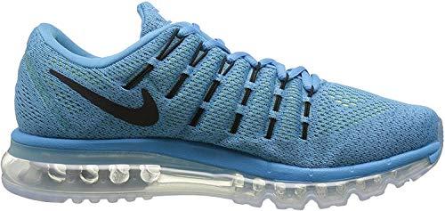 Nike Herren Air Max 2016 806771-400 Sneaker, Azul Negro Blue Lagoon Black Brave Blue, 44.5 EU