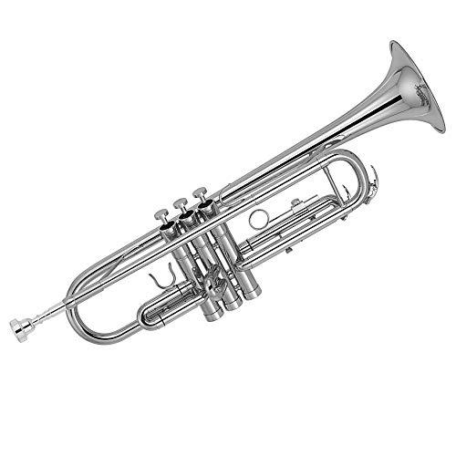 Kaizer C-Series (3000) Standard B Flat Bb Trumpet All New 2020 Model (Nickel Silver)