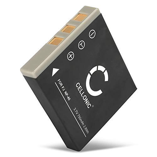 CELLONIC® Batería Premium Compatible con Fujifilm Finepix Z1 Z2 Z3 F650 V10 F710 F480 F700 F460 J50 F470 F610 F455 F402 (750mAh) NP-40 bateria de Repuesto, Pila reemplazo, sustitución