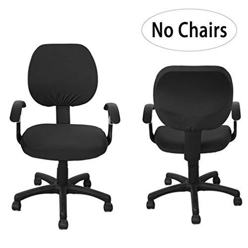 BTSKY widerstandsfähiger, elastischer Sitzbezug für Bürostühle, zweiteiliges Design (Stuhl nicht...