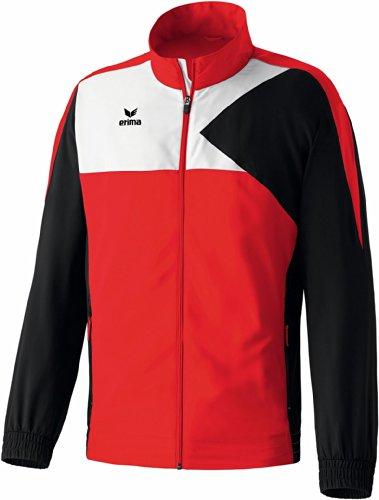 erima Erwachsene Anzug Premium One Präsentationsjacke, Rot/Schwarz/Weiß, M