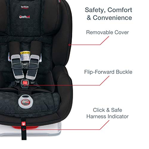 Britax Boulevard ClickTight Convertible Car Seat | 2 Layer Impact...