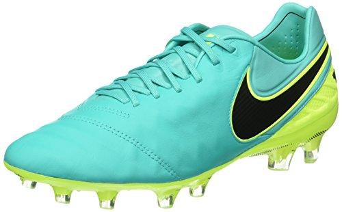 Nike Herren Tiempo Legend VI FG Fußballschuhe, Verde (Clear Jade/Black-Volt), 43 EU