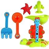 HarmonyHappy Kinder Strandspielzeug Sandspielzeug Set