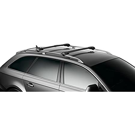 Thule Wingbar Edge 90401475 Komplett System Inkl Schloss Für Volkswagen Golf Variant Sportcombi Vii Der Leise Und Sichere Lastenträger Auto