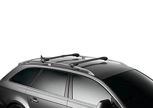 Thule WingBar Edge 90401323 Compleet systeem incl. Slot voor Volvo V40 – de stille en veilige bagagedrager.