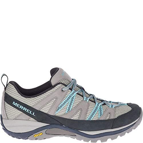Merrell womens Siren Sport 3 Hiking Shoe, Charcoal/Canal, 8.5 US