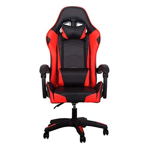 KOKOF Norma Gaming-Sitz, Computerstuhl, Bürostuhl, E-Sport, Gaming, Rennstuhl, Liegestuhl, Rot