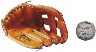 Wonninek Gant de Baseball Doux Solide en Cuir PU /épaississant pichet Gants de Balle Molle pour Enfants Adolescents Adulte Gant de Baseball Professionnel Attraper