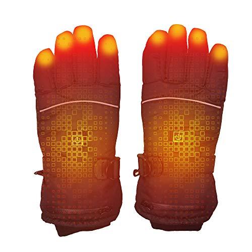 Galapara Handschuhe beheizbar, wasserdichte Handschuhe Isolierte Handschuhe Automatisch regulieren elektrische warme Heated Gloves for Outdoor Work, Skiing, Motorcycle, Hunting