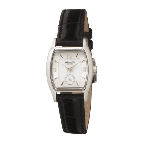Kenneth Cole New York KC2386-NY Reloj clásico de cuero negro para mujer [Reloj]