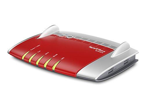 AVM Fritz!Box 6430 Cable WLAN N (DOCSIS-3.0-Kabelmodem für Kabelanschluss, bis 450Mbit/s (2,4 GHz), VoIP-Telefonanlage, DECT-Basis)
