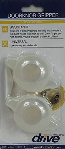 Drive Doorknob Grips - Arthritis & Senior Living Aids, Open Doors Easier, Set of 2