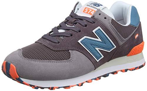 New Balance Herren 574v2 Sneaker, Grau(Grau (Light Shale Light Shale)), 40.5 EU