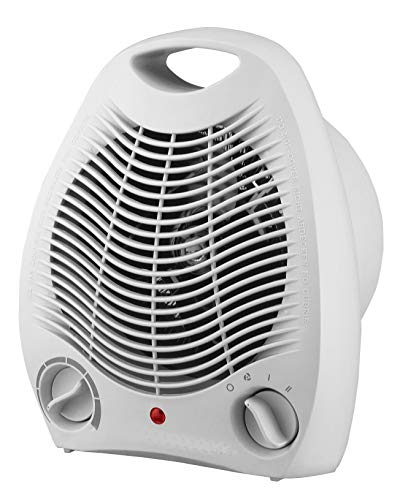 TENCO TH301 - Calefactor 2000W, Termostato Regulable, Color Blanco