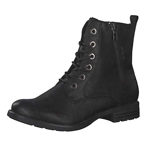 Tom Tailor Womens 9093303 Mid Calf Boot Bootie Boot, Black, 8 UK