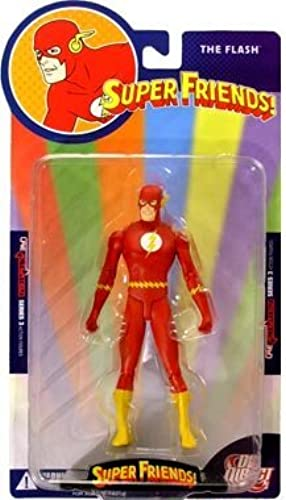 DC Direct Re Activated 3 - Super Friends  The Flash Action Figure by DC Direct