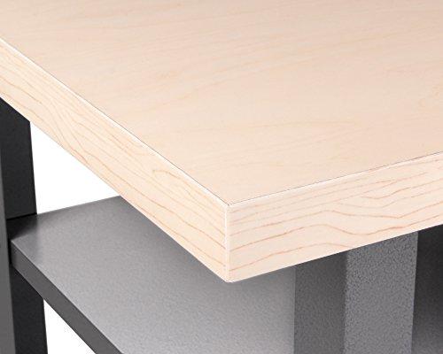 Ondis24 Montagewerkbank Werkstatteinrichtung Werkstatt Werkbank Werktisch Packtisch Basic mit höhenverstellbaren Füßen - 6