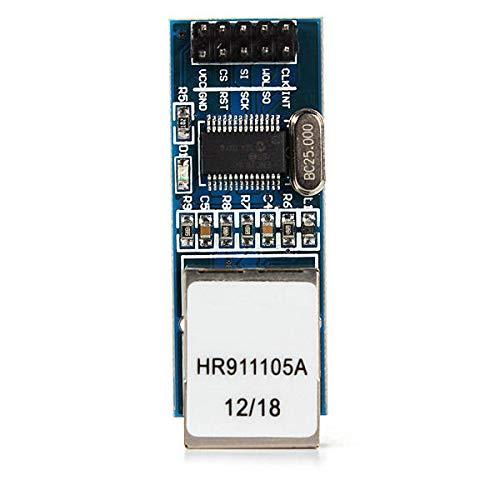 MINGMIN-DZ Dauerhaft ENC28J60 Ethernet-LAN-Netzwerkmodul Geekcreit for A-r-d-u-i-n-o - Produkte, DASS die Arbeit mit dem Offiziellen A-r-d-u-i-n-o-Boards 5Pcs Leicht zusammenzubauen