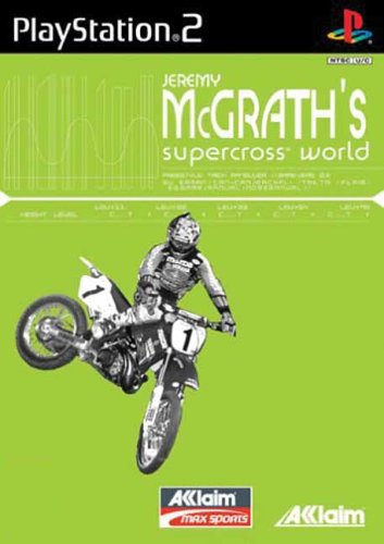 Jeremy McGrath Supercross World [PlayStation2] …