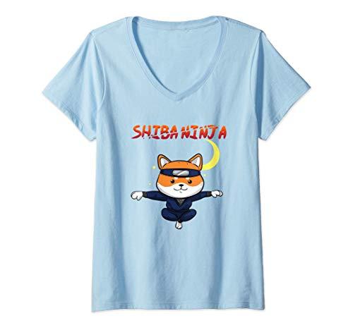 Damen Lustiger Shiba Inu Uni Hund...