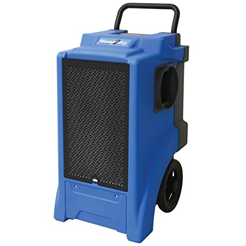 Perfect Aire Damp2Dry 65 Liter/150 Pint Dehumidifier Commercial Dehum, 150 19 Gallon, Blue