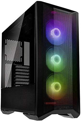 Lian Li LANCOOL II Mesh RGB Midi Tower Nero LANCOOL II Mesh RGB, Midi Tower, PC, SGCC, Vetro temperato, Nero, ATX,EATX,ITX, Ventole