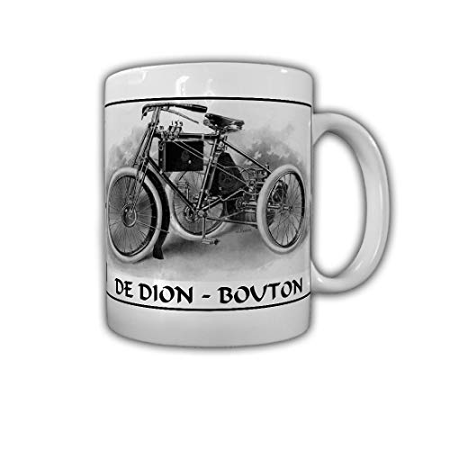 De Dioin Bouton eencilinder fabriek fabrikant motorfiets - mok #26762