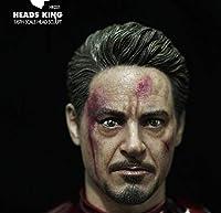 [TOYBARJAPAN ]1/6スケール フィギュア用 Heads King HK001 欧米男性ヘッド ダメッジ版(素体と服は含みません)