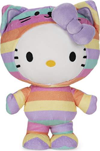 GUND Sanrio Hello Kitty Rainbow Outfit Plush Stuffed Animal, 9.5'