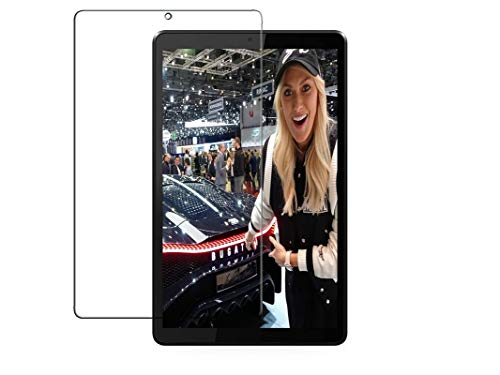 NAXTON® Tab Screen Protector FOR LENOVO TAB M8 HD (8Inch) / M8 FHD (8 Inch) With Nano Technology, Bubble Free Installation, Scratch Free, Anti Glare, UNBREAKABLE ARMOUR GUARD - NOT A TEMPERED GLASS