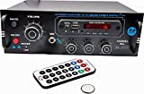 Xzoanmol Clmax 4 Channel Home DJ Amplifier with USB,AUX,MMC,FM,MIC-in,Bluetooth & Double Ic 4440