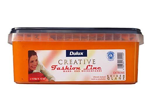 Dulux Creative Fashion Line 1l Wand und Deckenfarbe, seidenglanz mit FARBWAHL (Extreme)