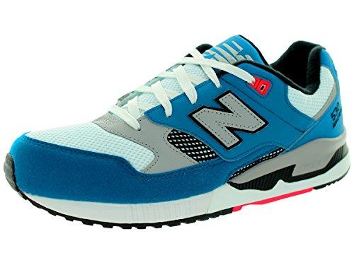 New Balance 530 Men's Running, Size 7.5, Color Lake Teal/White