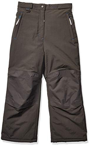 Amazon Essentials pantalón de nieve impermeable para niño, Gris oscuro, grande
