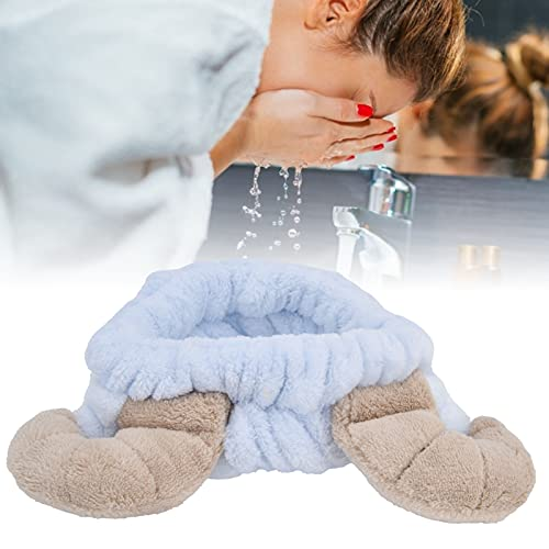 Diadema para Lavado de Cara, Diadema cosmética para Mujeres y niñas, paño portátil para el Cuidado de la Piel, para Deportes