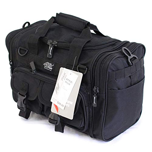 "15"" Tactical Duffle Military Molle Gear Shoulder Strap Range Bag TF115 BK Black"