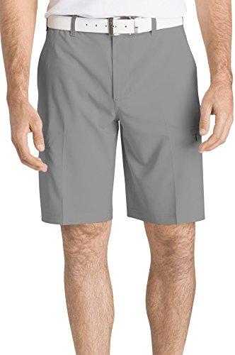 IZOD Men's Golf SwingFlex Cargo Short, Cinderblock Legacy, 34