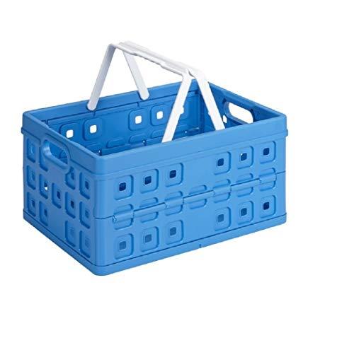 Sunware quadratisch Faltschachtel mit Griff, blau, One Size