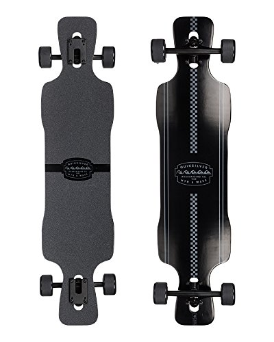 Quiksilver Black Drift Longboard Mixte Adulte, Noir