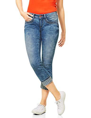 STREET ONE Damen Jane Jeans, Light Blue Washed, W32/L26