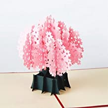 Cherry Blossom Pop Up Card, 3D Card, Mother's Day Card, Springtime Card, Birthday Card,pop up cards, gift cards, 3d cards pop up,Mother's Day gift,By Veizn