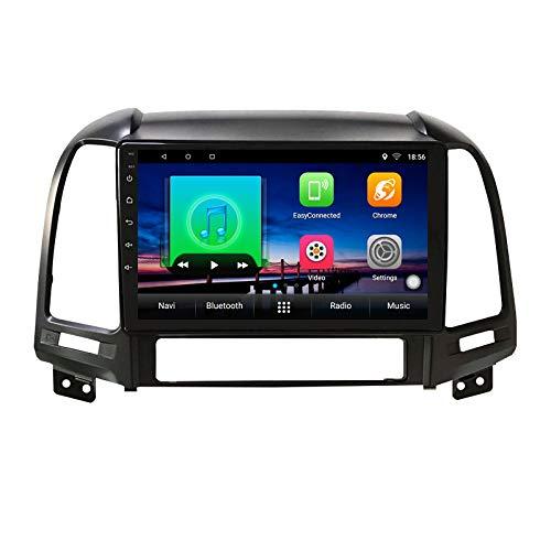 2G+32G Android 10 autoradio per Hyundai Santa Fe 2 2006-2012 Autoradio Multimediale Lettore Video Navigazione GPS