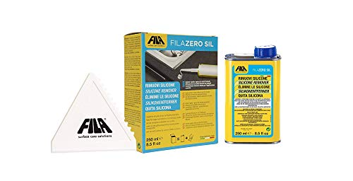 Preisvergleich Produktbild Fila Zero Sil Silikonentferner - Entfernt Reste und Rückstände von Silikon,  Kleber,  Klebeband,  alten Aufklebern und Polyurethanschaum 250 ml