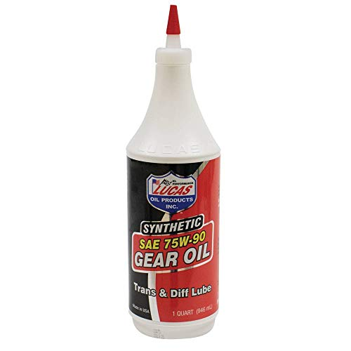 Lucas Oil 10047 SAE 75W-90 Synthetic Transmission and Differential Lube - , Clear, 1 Quart (32 Ounces)
