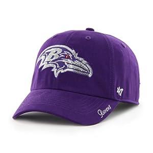 NFL Baltimore Ravens Women's Sparkle Team Color, Purple