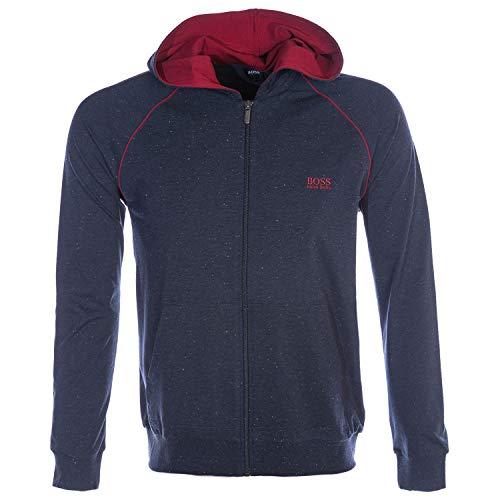 BOSS Herren Mix&Match Jacket H Sweatshirt, Blau (Open Blue 460), Small (Herstellergröße: S)