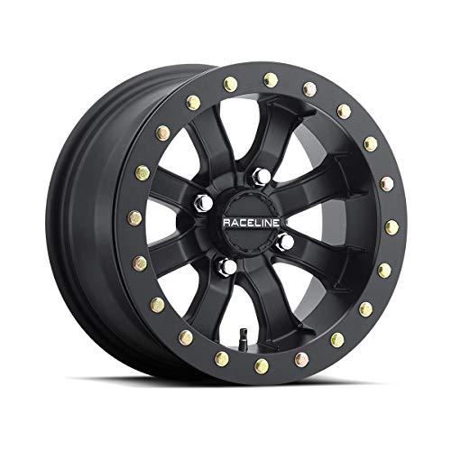 15X7 4+3 4//156 ITP 14-19 Polaris RANRZR1000XE Hurricane Wheel Matte Black