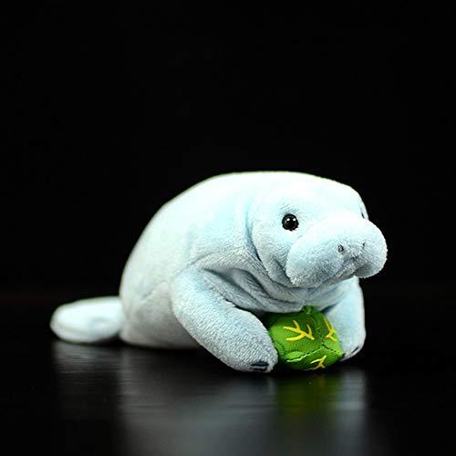 suhang 9 cm Seekuh Nette Simulation Stellers Seekuh Puppen Weiches Plüschtier Lebensechte Meerestier Flosse Kinder Geschenke